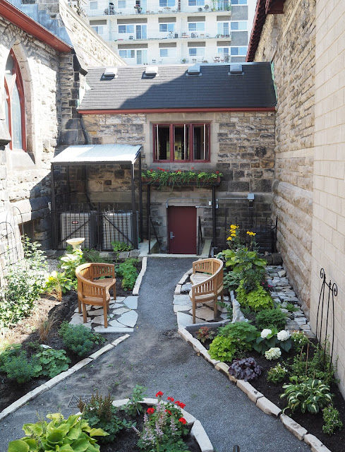 Urban Oasis Courtyard Garden Ottawa Wild Here