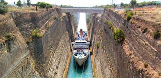 Canal de Corinto.