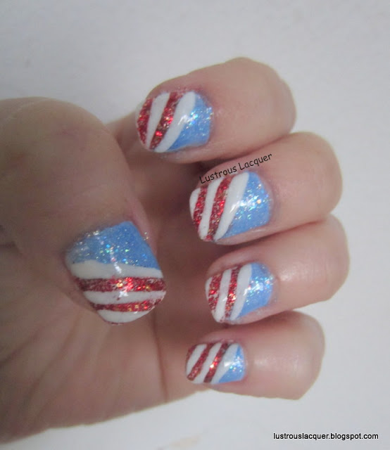 4th os July Manicure