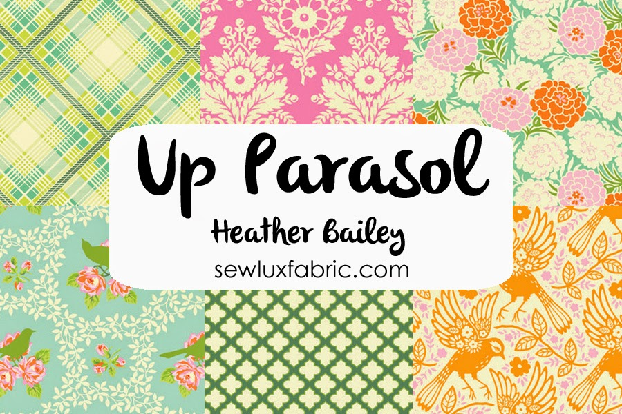 Sew Lux Fabric Blog New In The Shop Up Parasol By Heather Bailey