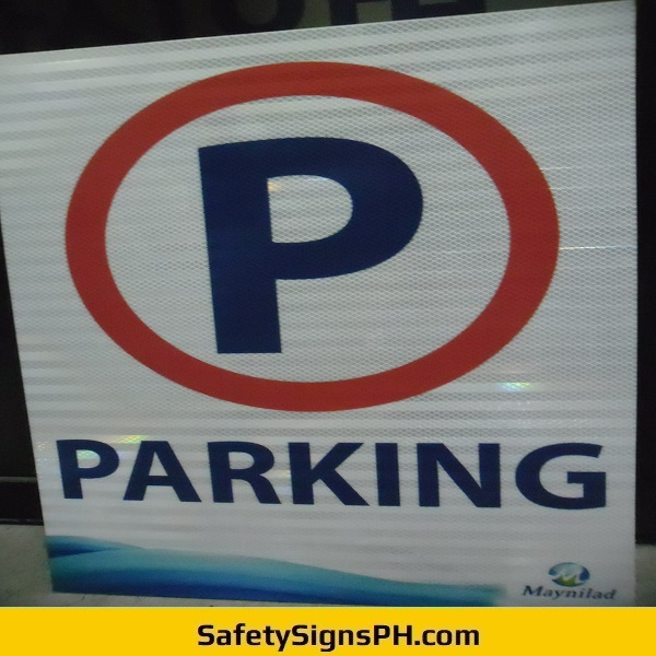 No Parking High Intensity Prismatic Sign Philippines