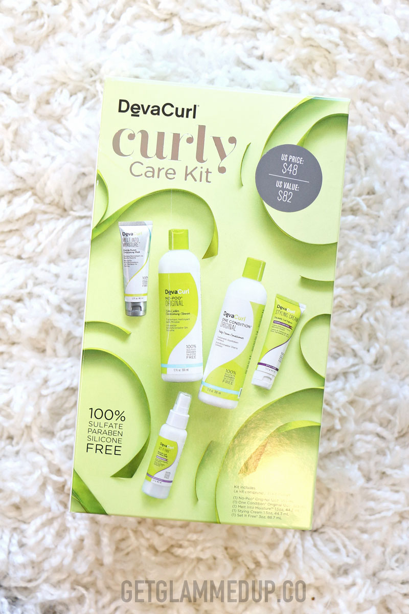 DevaCurl Curly Care Kit Giveaway
