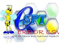 File CSV SPT Tahunan PPh Badan Gagal Dibuka di Peneiti SPT Tahunan