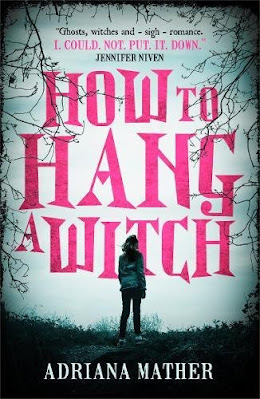 How to Hang a Witch by Adriana Mather book cover