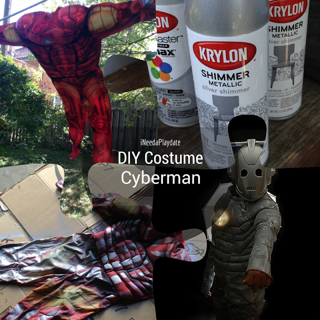 DIY Doctor Who Cyberman Costume
