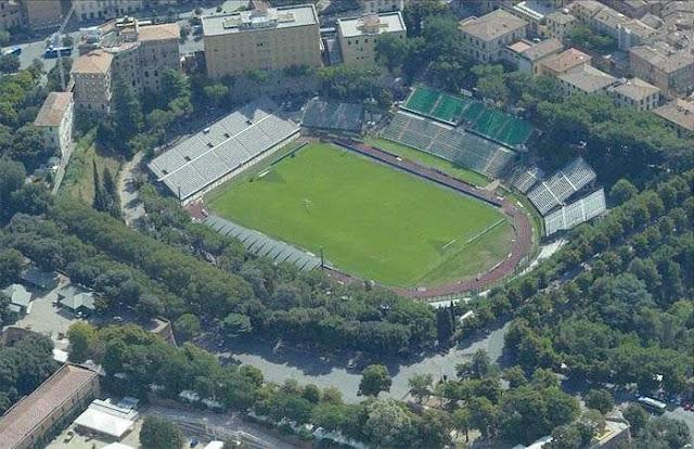Estádio Artemio Franchi visto de cima