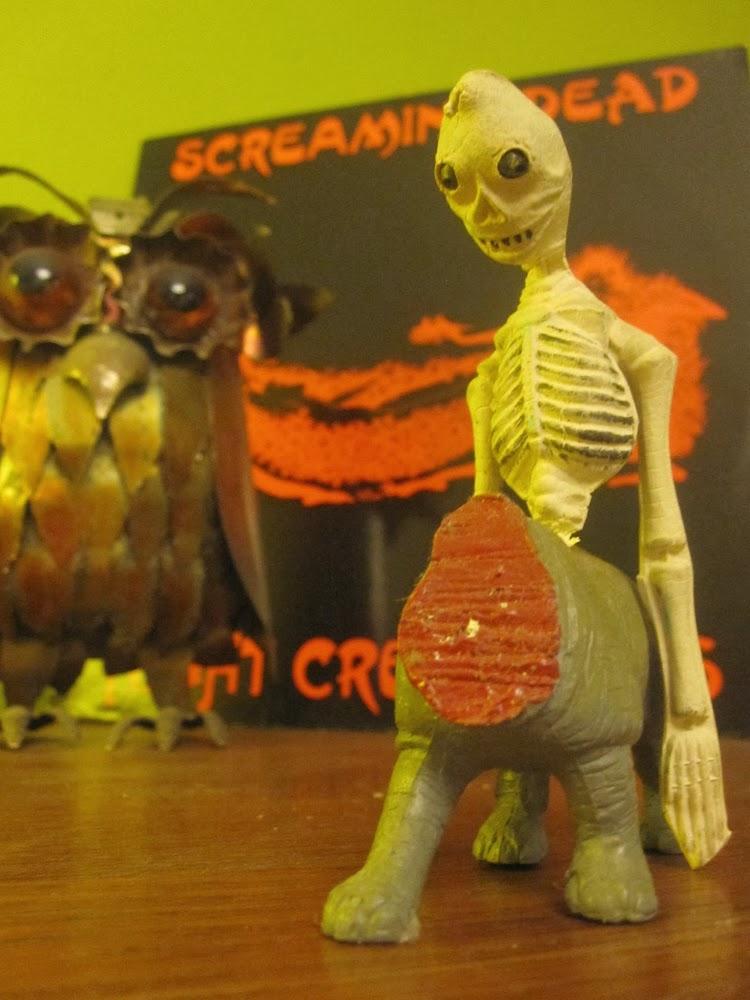 The sound of CrazeeGirl !: Screaming Dead - Night Creatures - 1983