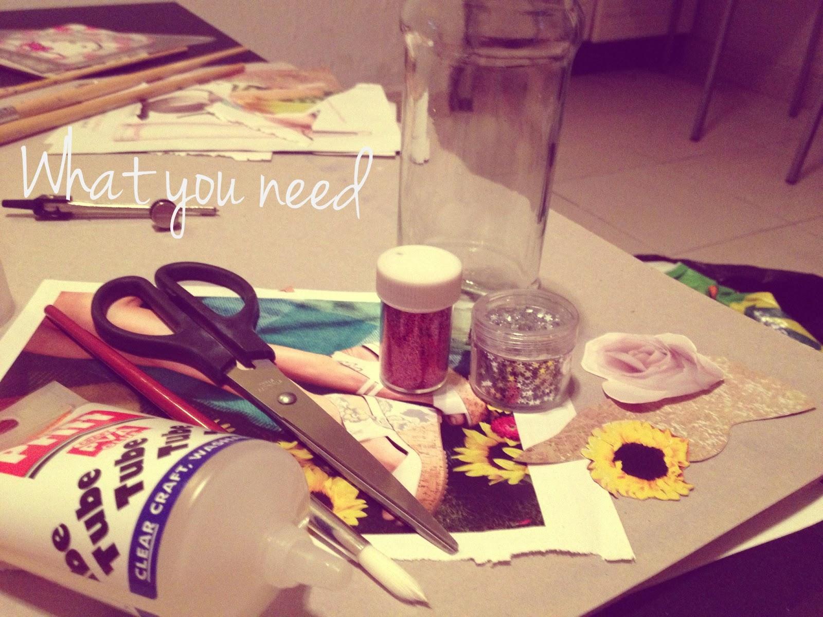 DIY: sand jar   Love, Maisie