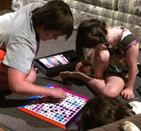 A review of the game Expanders, a math related game for kids