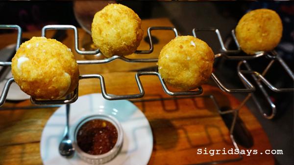 Brewery Gastropub Iloilo restaurant- mozzarella balls