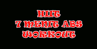 HIIT 7 menit workout