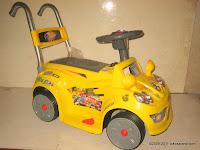 2 Mobil Mainan Aki Wimcycle Hotwheels Built for Speed Small dengan Kendali Jauh