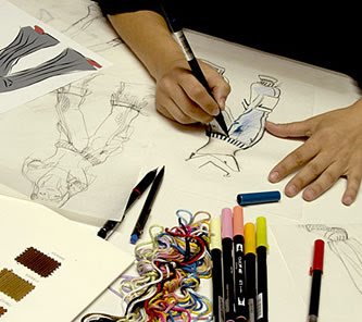 Designing clothes online