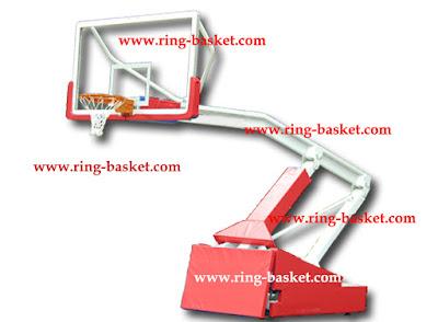 tiang basket portabel