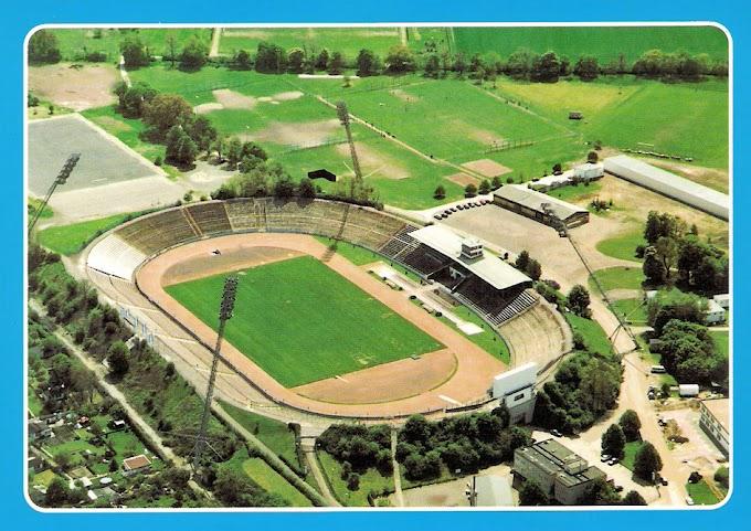 Stadium view. ERNST GRUBE STADION.