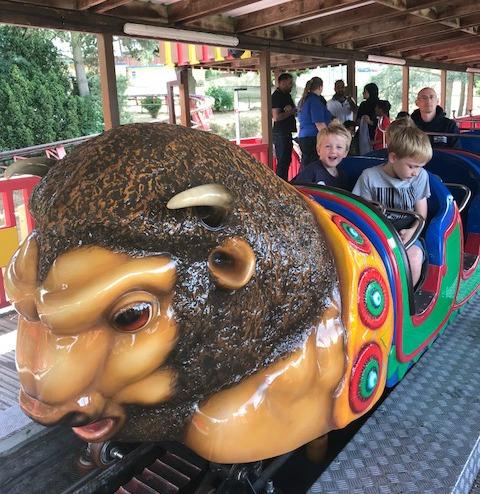 Buffalo rollercoaster Drayton Manor