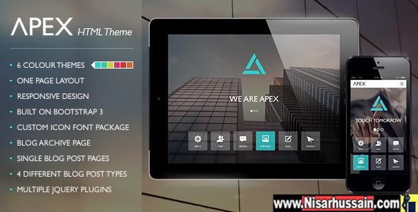Apex Premium Responsive WordPress Theme