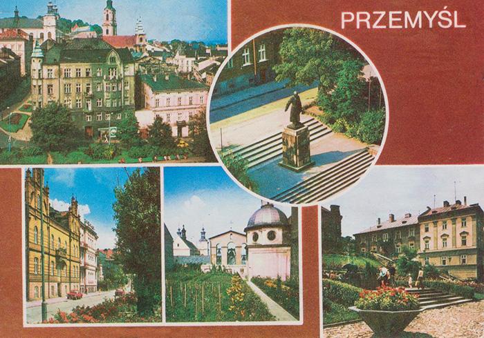 Pocztówka - Przemyśl