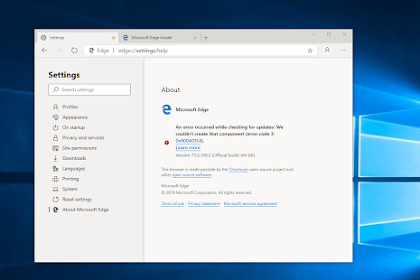 Download Microsoft Edge Based On Chrome Disini!