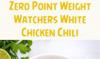 Zero Point Weight Watchers White Chicken Chili