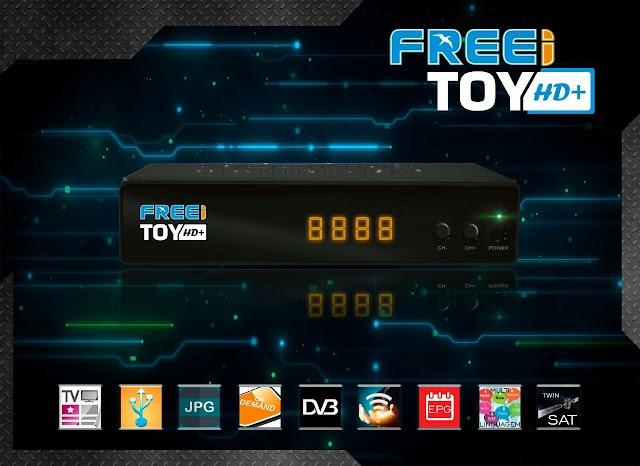 FREEY TOY HD + NOVA ATUALIZAÇÃO V1.30 - 17/10/2017
