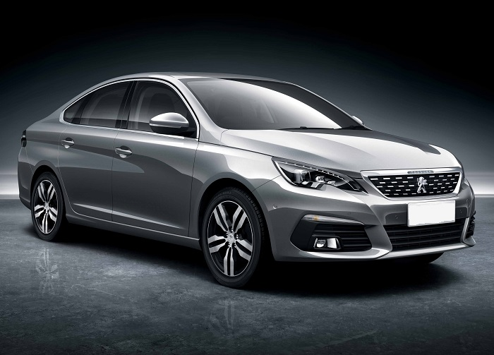 Peugeot Unveils Its Future Core Product Dongfeng Peugeot 308 Sedan