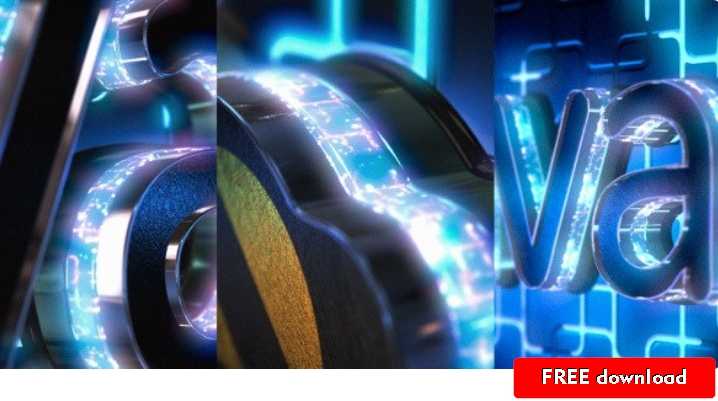 Neon Logo Reveal with Cube Tunnel 11553368 | template AE mega