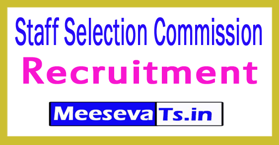 Staff Selection Commission (SSC) Recruitment 2017