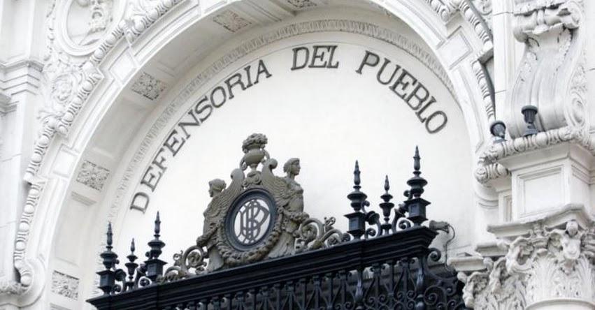 Defensoría del Pueblo pide revisar fallos de juez Hinostroza en materia de delitos sexuales
