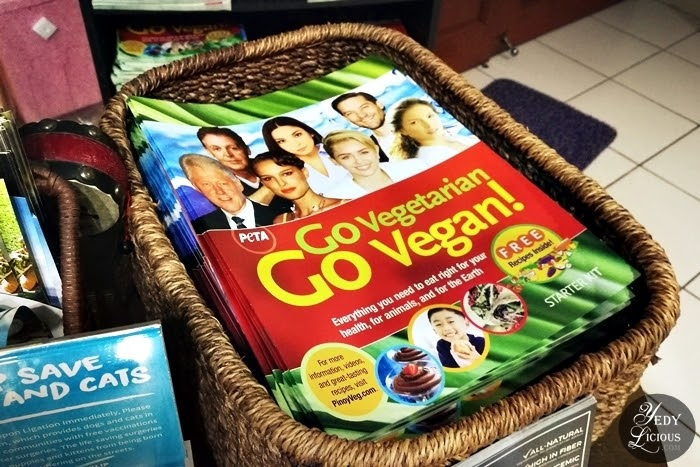 PETA Magazine, The Vegan Grocer Manila Philippines, The Vegan Grocer Address Contact Number, Online Shopping Delivery Blog Review, Healthy Food Where To Buy Vegan and Vegetarian Food in Manila Philippines, Vegan Vegetarian Grocery Store in Manila, Best Vegetarian and Vegan Store Shops in Manila, Vegan Online Store Philippines, The Vegan Grocer Blog Review, The Vegan Grocer San Juan City Metro Manila Philippines Top Best Food Blog Recipe in Manila Philippines YedyLicious Manila Food Blog Yedy Calaguas Manila Vegans Vegetarians Cruelty-free Food, Plant Based Diet, Meatless Mondays