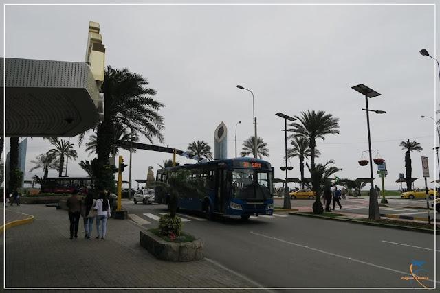 Lima, no Peru,  a cidade onde nunca chove!