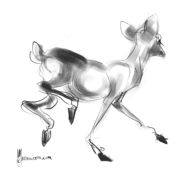 Deer by Artmagenta