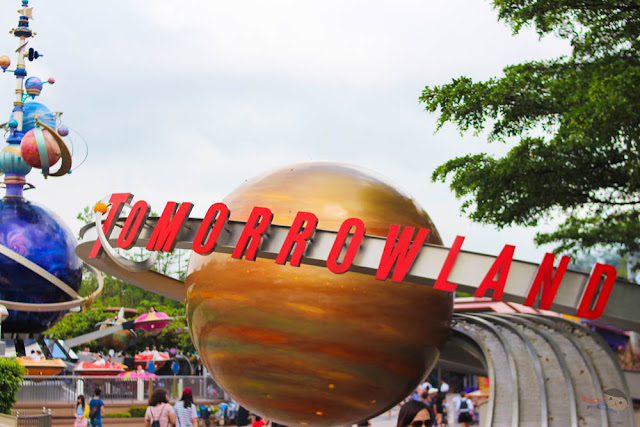 Tomorrowland in Disneyland Hong Kong