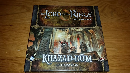 Lord of the Rings the card game Khazad-Dum expansion