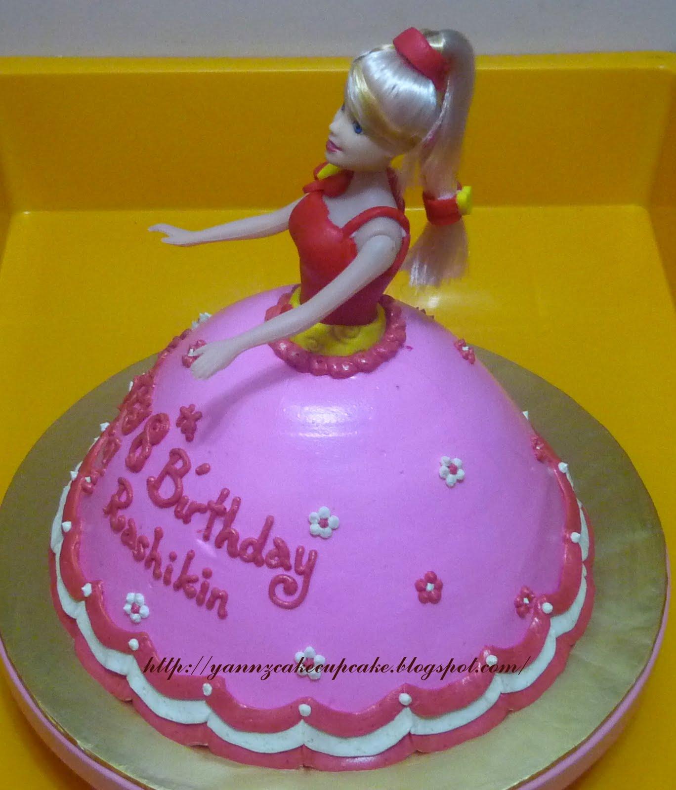 Cake & Cupcake By Yannz: 3D Princess Cake : For Rasyikin