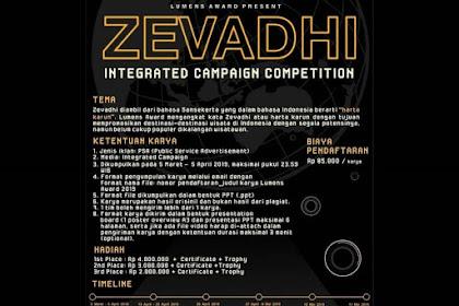 Lomba Desain Iklan Lumens Awards Zevadhi 2019 Mahasiswa Terbaru
