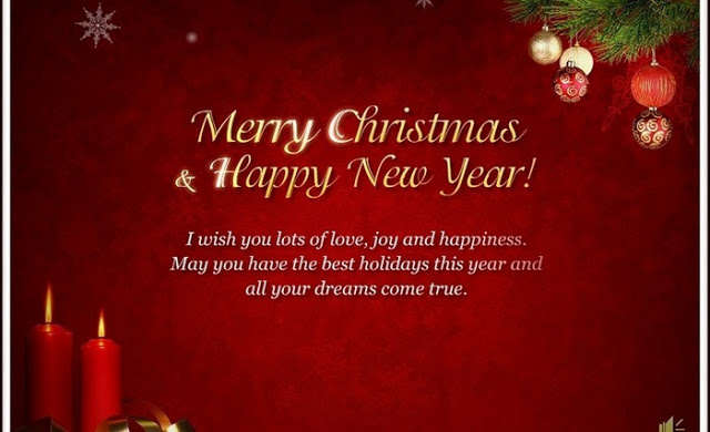 Merry Christmas and Happy New Year 2017 Wishes