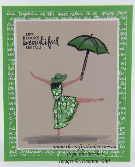 On Stage Local, Swaps, Beautiful You, #thecraftythinker, stampin up Australia Demonstrator, Sydney NSW