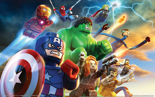 تحميل لعبة Lego marvel super Heroes