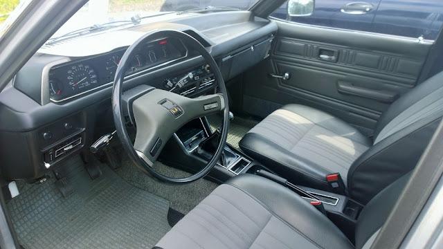Mitsubishi Galant A120 1978 interior