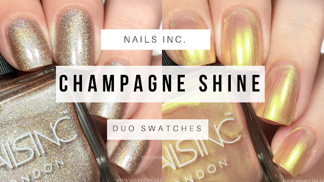 Nails Inc Champagne Shine Duo
