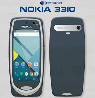 New Nokia 3310 Android Smartphone
