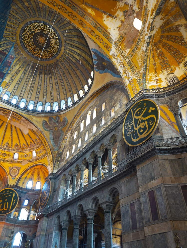 Euriental | Istanbul, Turkey. Inside the Ayasofya