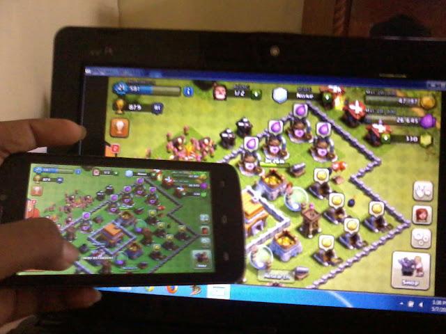 Cara Melihat Layar Android Di Laptop