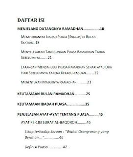Download Kitab Ramadhan Bertabur Berkah PDF