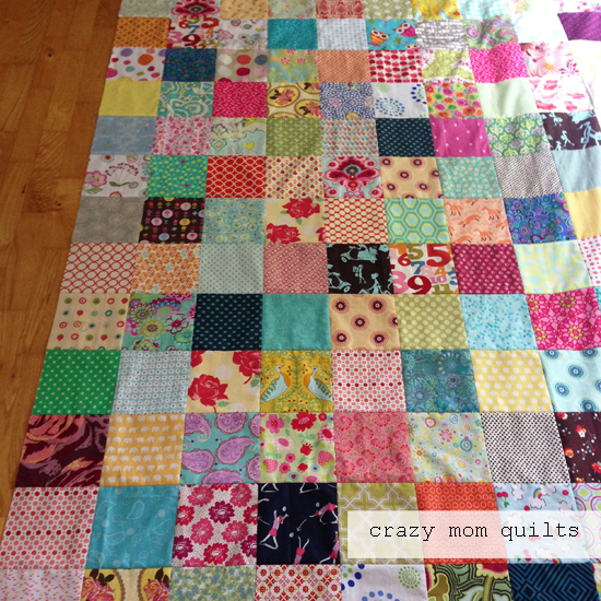 crazy mom quilts a simple summer quilt