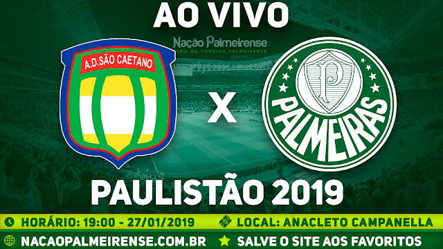 Assistir São Caetano x Palmeiras Ao Vivo