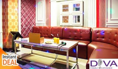 Harga Room DIVA Kelapa Gading Karaoke Keluarga Terbaru