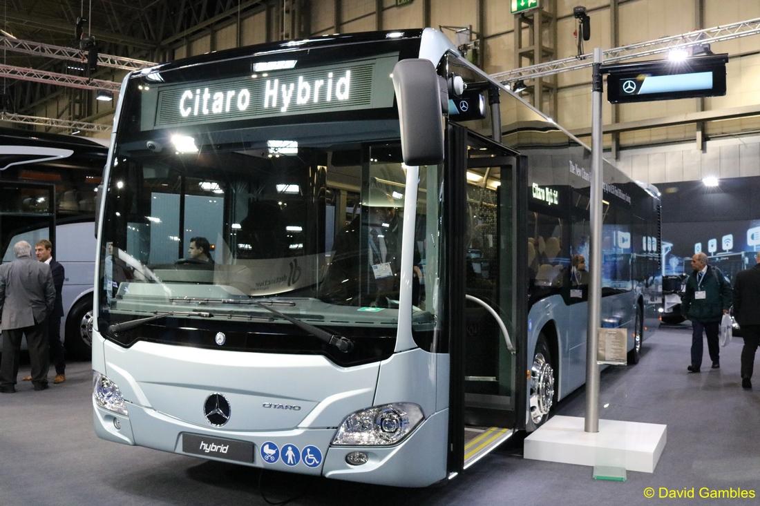 Focus Transport Euro Bus Expo 2018 Mercedes Benz