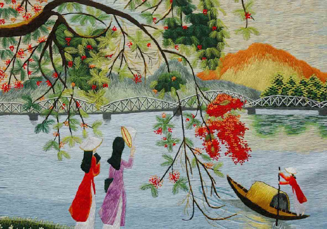 Vietnamese embroidery